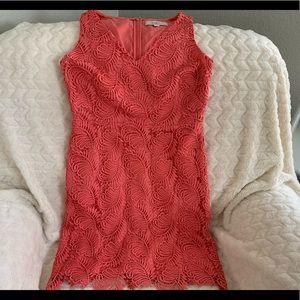 Loft Gorgeous coral dress